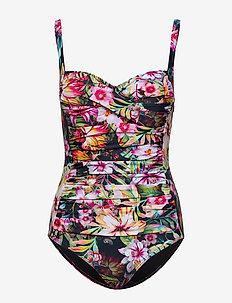 Amelia swimsuit - badedrakter - flower dream