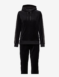 Velvet softness homewear - BLACK