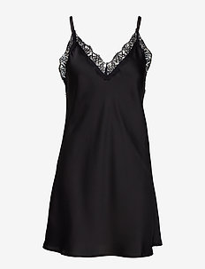 Smilla strap dress - BLACK