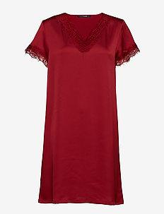 Smilla dress - DARK RED