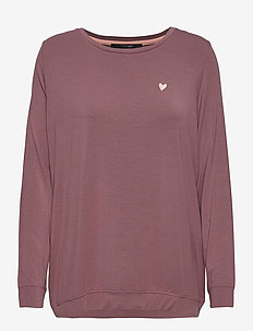Softness shirt - long-sleeved tops - rose taupe