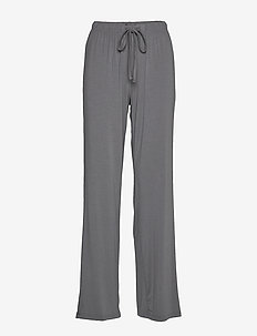 Softness wide pant - STEEL GREY