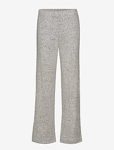 Cozy wide pant - LIGHT GREY MELANGE