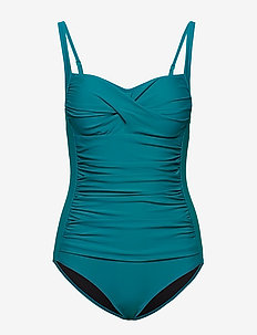 Argentina swimsuit - badedrakter - turquoise