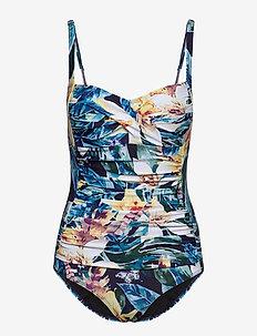 Milano swimsuit - badpakken - navy