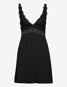 Tanya nightdress - natkjoler - black