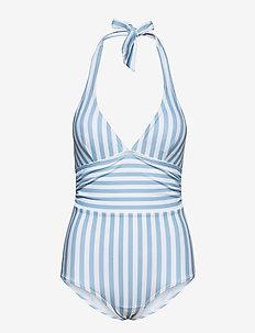Monte Carlo Swimsuit - badpakken - blue/white stripes