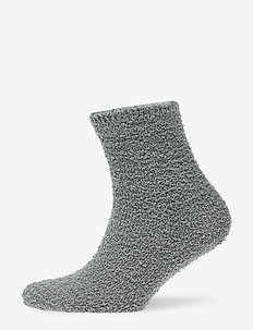 Teddy socks - STEEL GREY