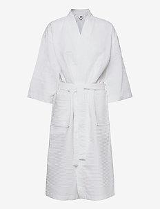 Honeycomb robe cotton - bedrok - white