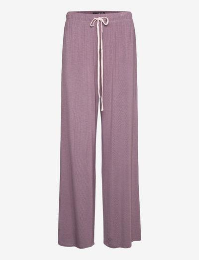 Softness wide pant - bukser med brede ben - ephemera