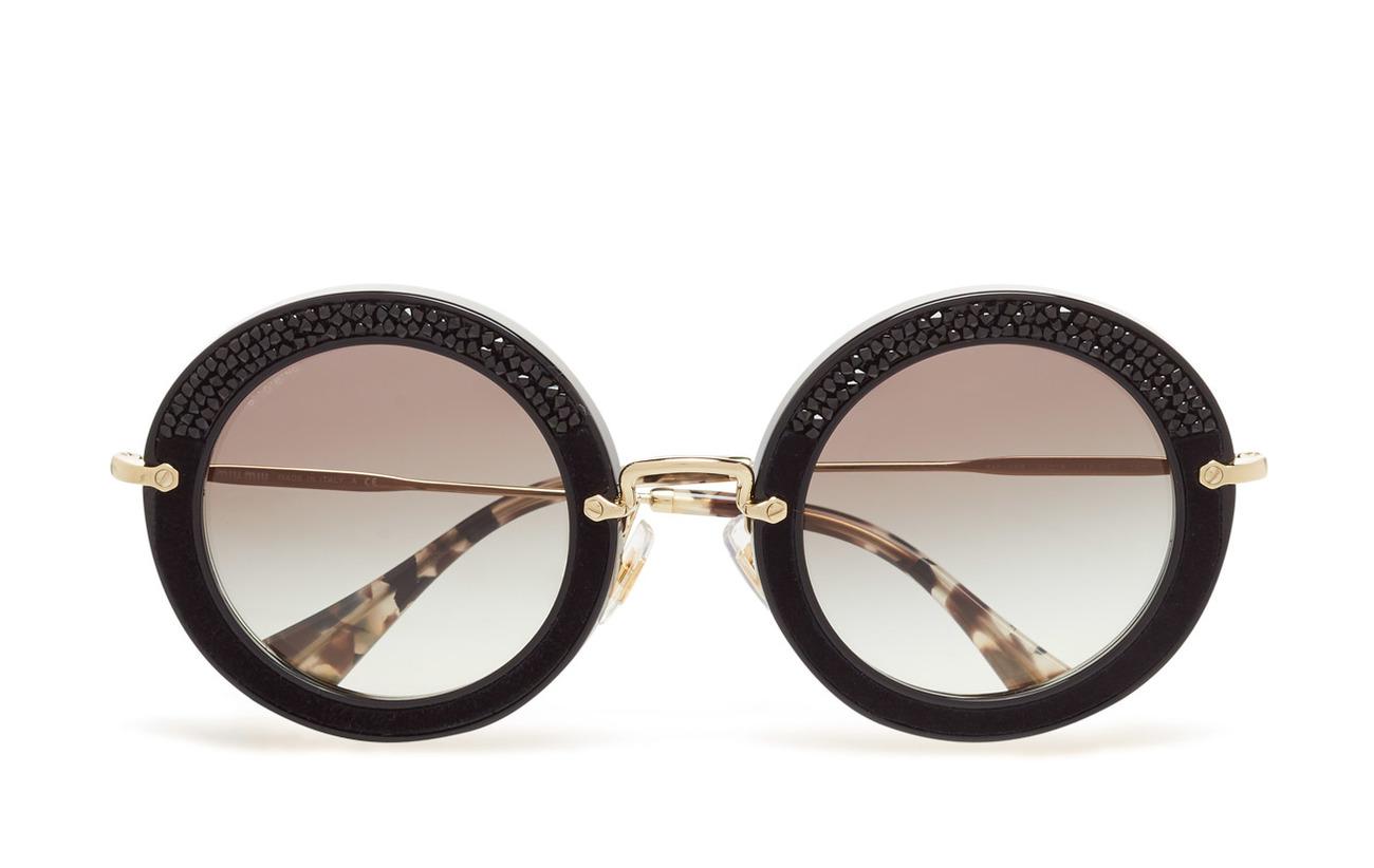 c3481fac599b Noir (Black/grey Gradient) (174 €) - Miu Miu Sunglasses -   Boozt.com
