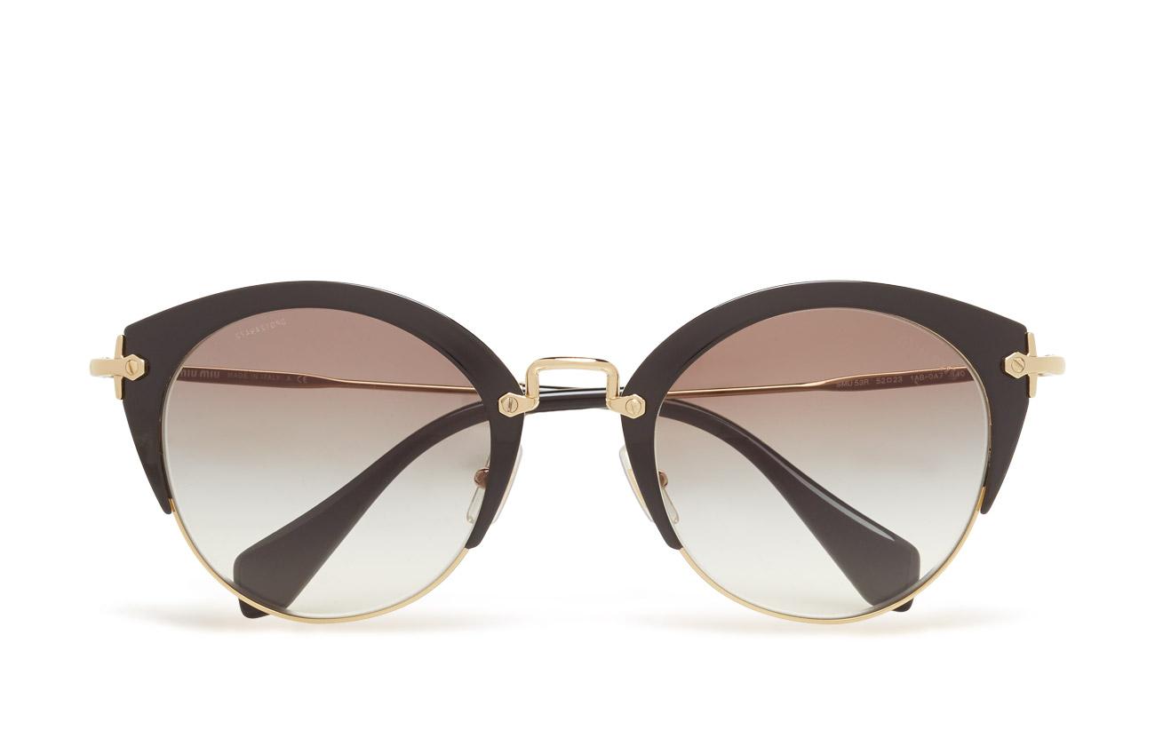 1303630d817 Cat Eye (Black pale Gold-grey Gradient) (£224) - Miu Miu Sunglasses ...