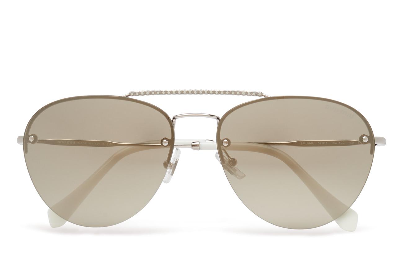 Miu Miu Sunglasses 0MU 54US - SILVER