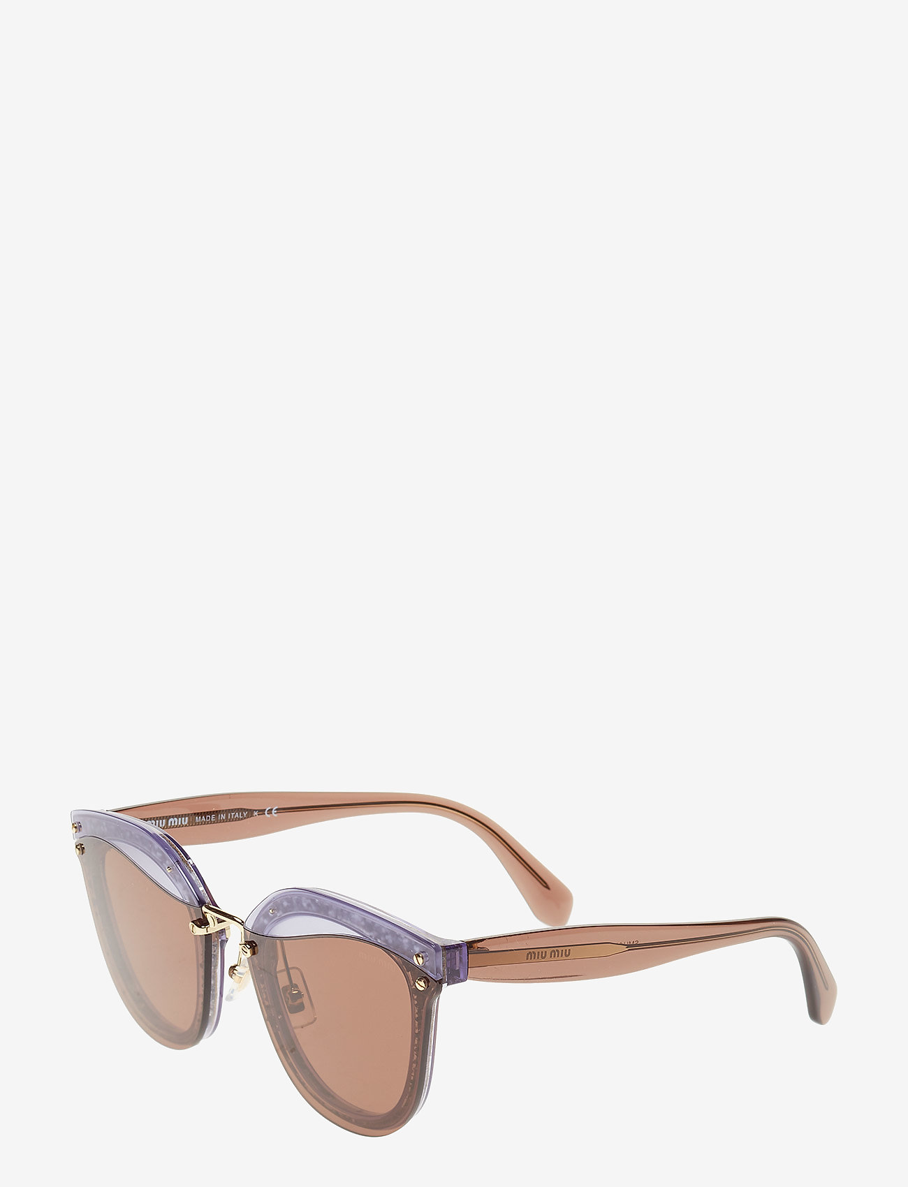 Miu Miu Sunglasses - WOMEN'S SUNGLASSES - cat-eye - transparente lilac/glitter