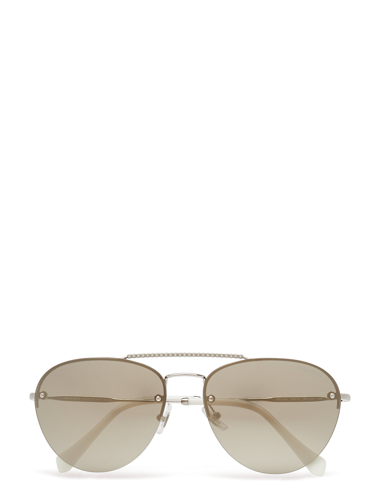 0mu 54us Pilottilasit Aurinkolasit Kulta Miu Miu Sunglasses
