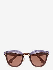 Miu Miu Sunglasses - WOMEN'S SUNGLASSES - cat-eye - transparente lilac/glitter - 0