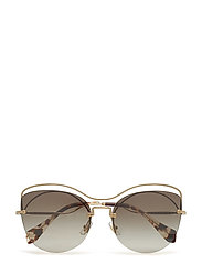 WOMEN'S SUNGLASSES - PALE GOLD