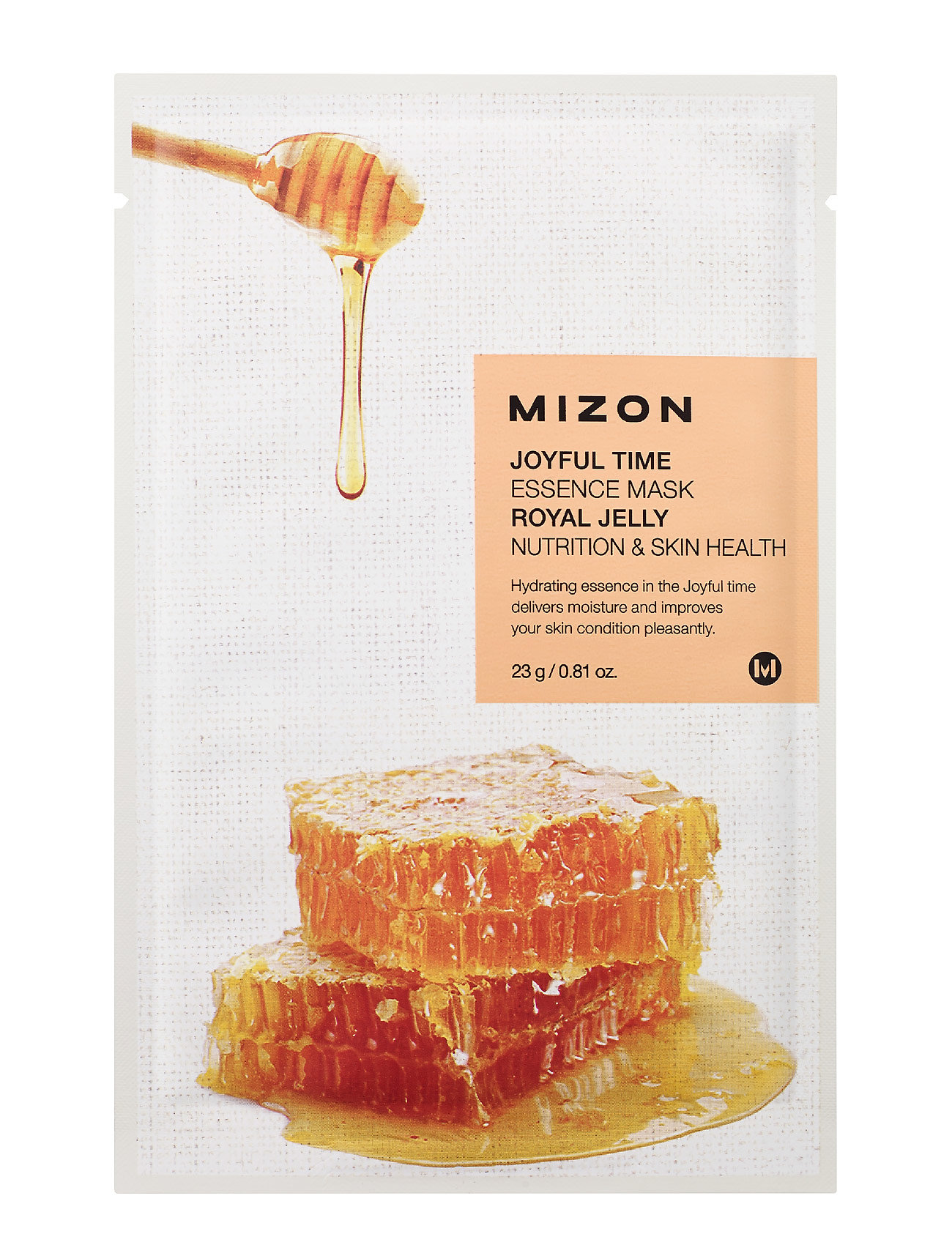 MIZON Joyful Time Mask Royal Jelly - CLEAR