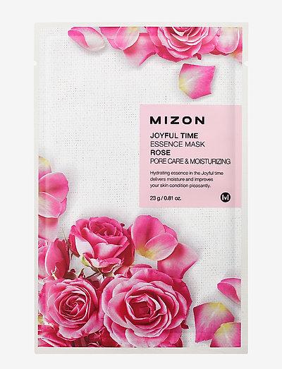 Joyful Time Mask Rose - sheet mask - clear