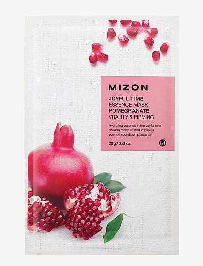 Joyful Time Mask Pomegranate - sheet mask - clear
