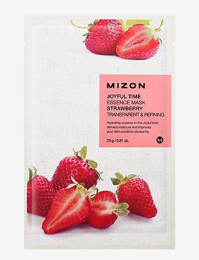Joyful Time Mask Strawberry - sheet mask - clear