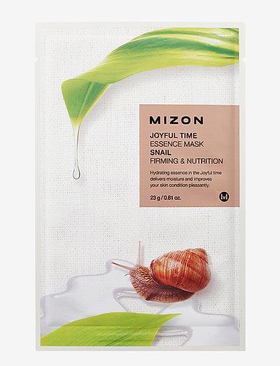 Joyful Time Mask Snail - CLEAR