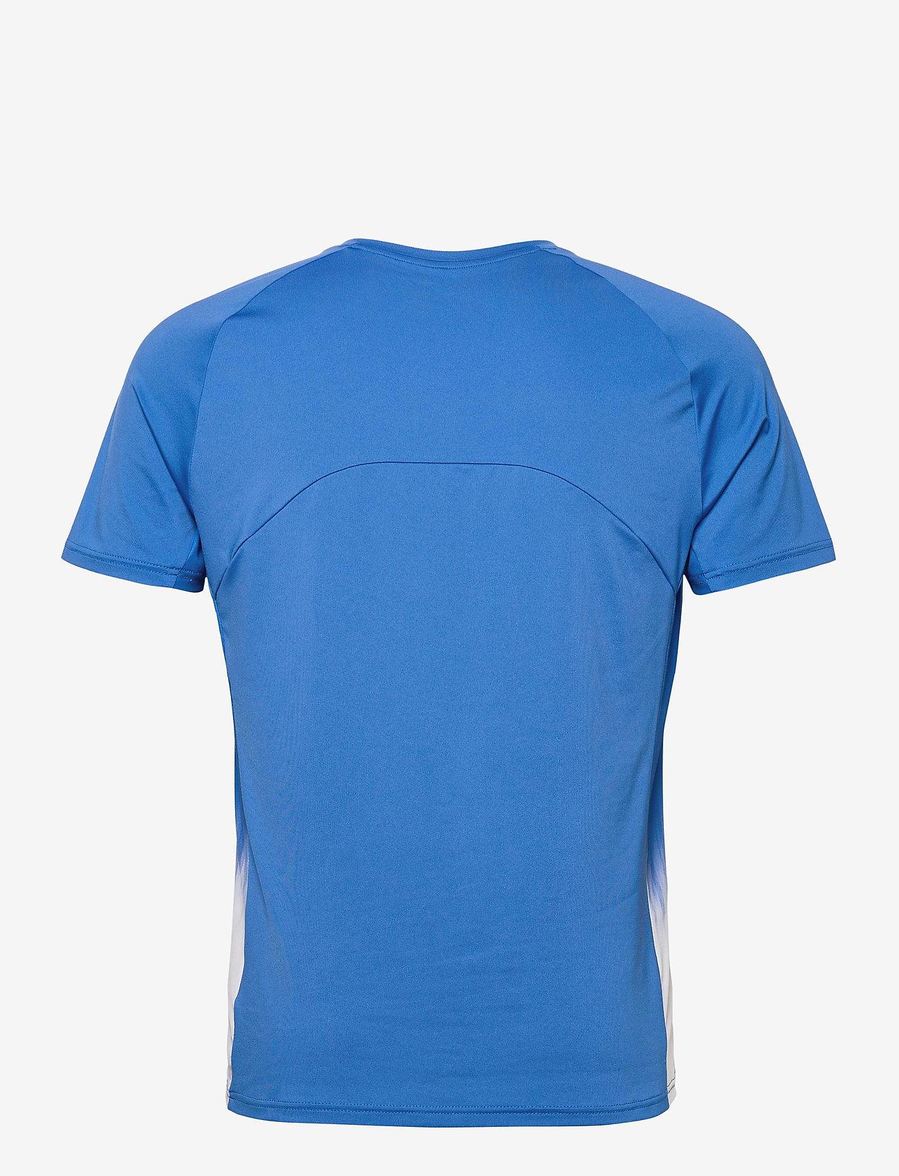 Mizuno - Shadow Tee(M) - t-shirts - nebulas blue - 1