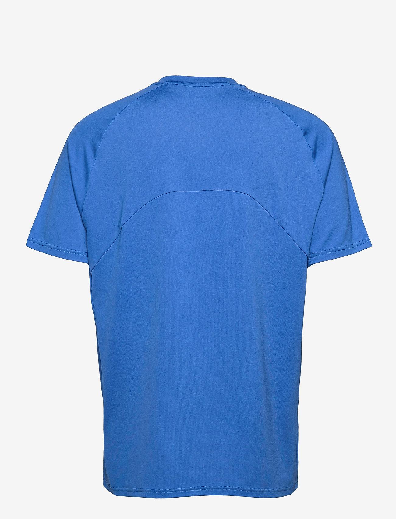 Mizuno - Shadow Polo(M) - t-shirts - nebulas blue/white - 1