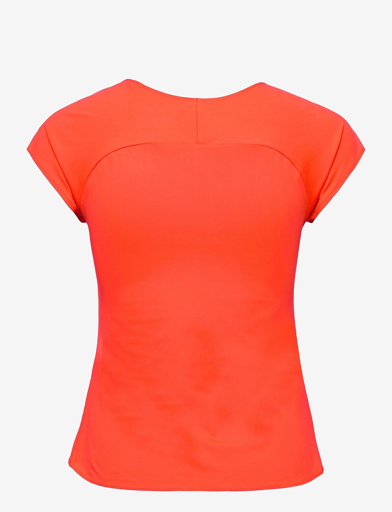Mizuno - Tee(W) - t-shirts - mandarin red - 1