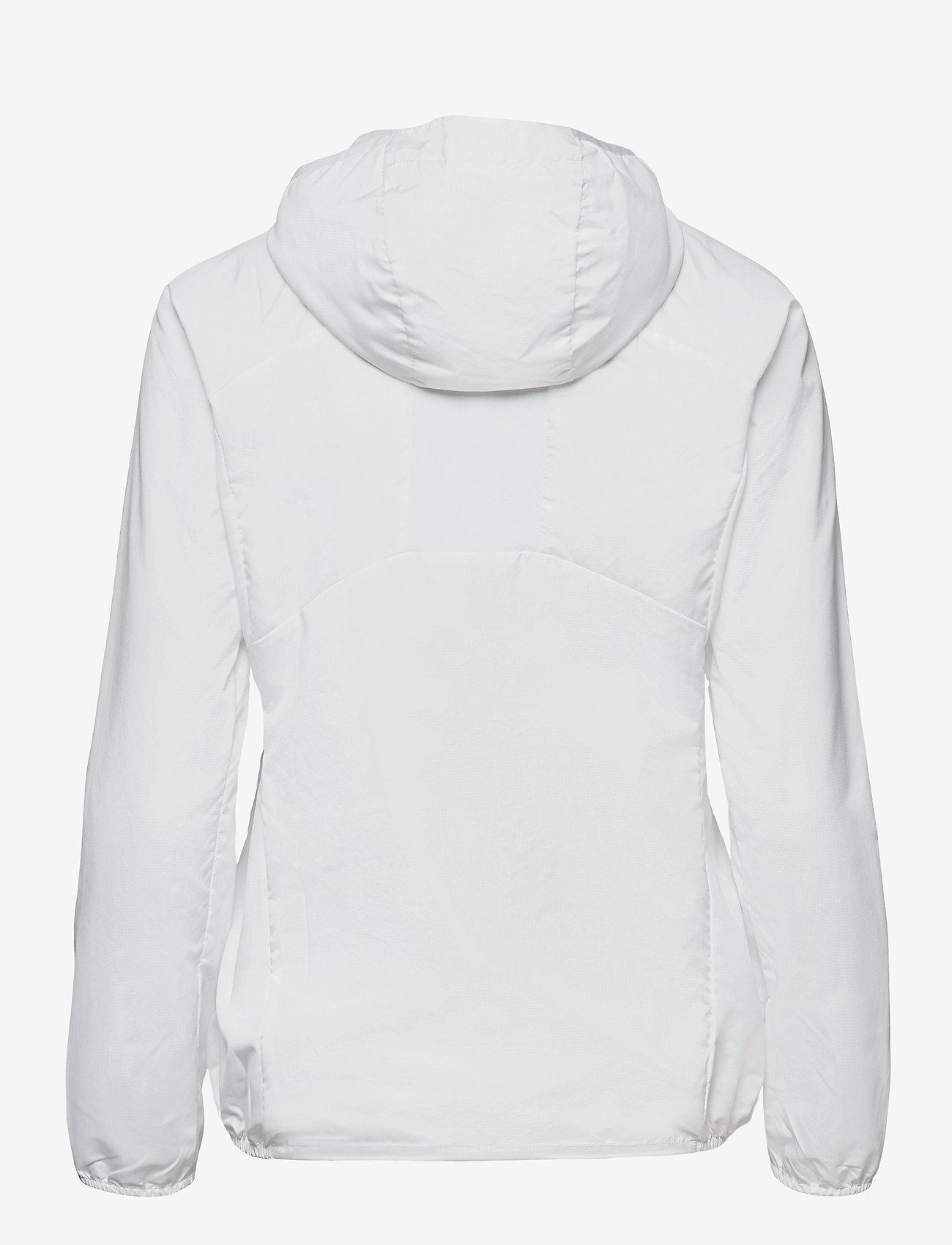 Mizuno - Hoody Jacket(W) - träningsjackor - white - 1