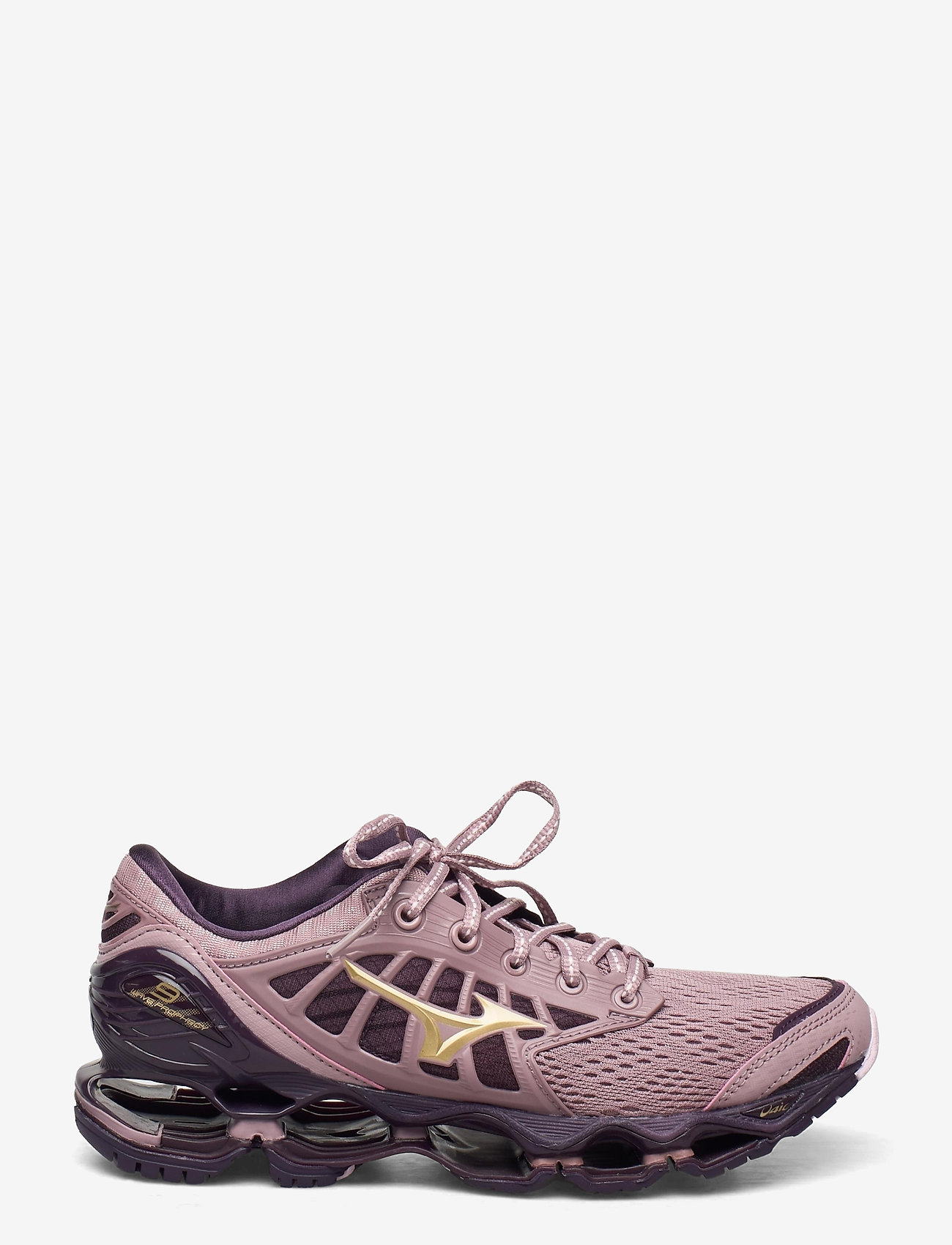 Mizuno - WAVE PROPHECY 9 W - running shoes - woodrose/gold/plum perfect - 0