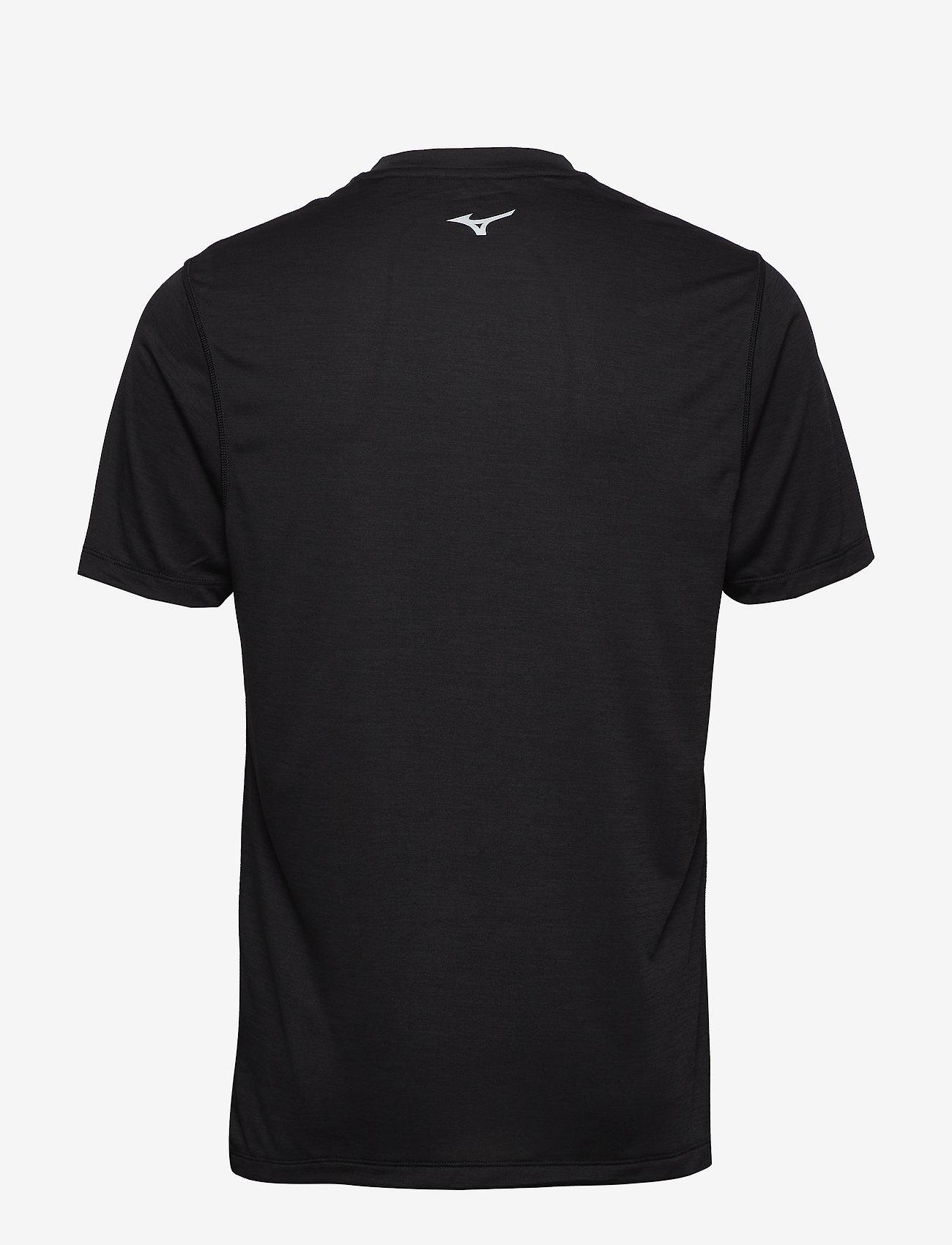 Mizuno - Core Graphic Tee - t-shirts - black - 1