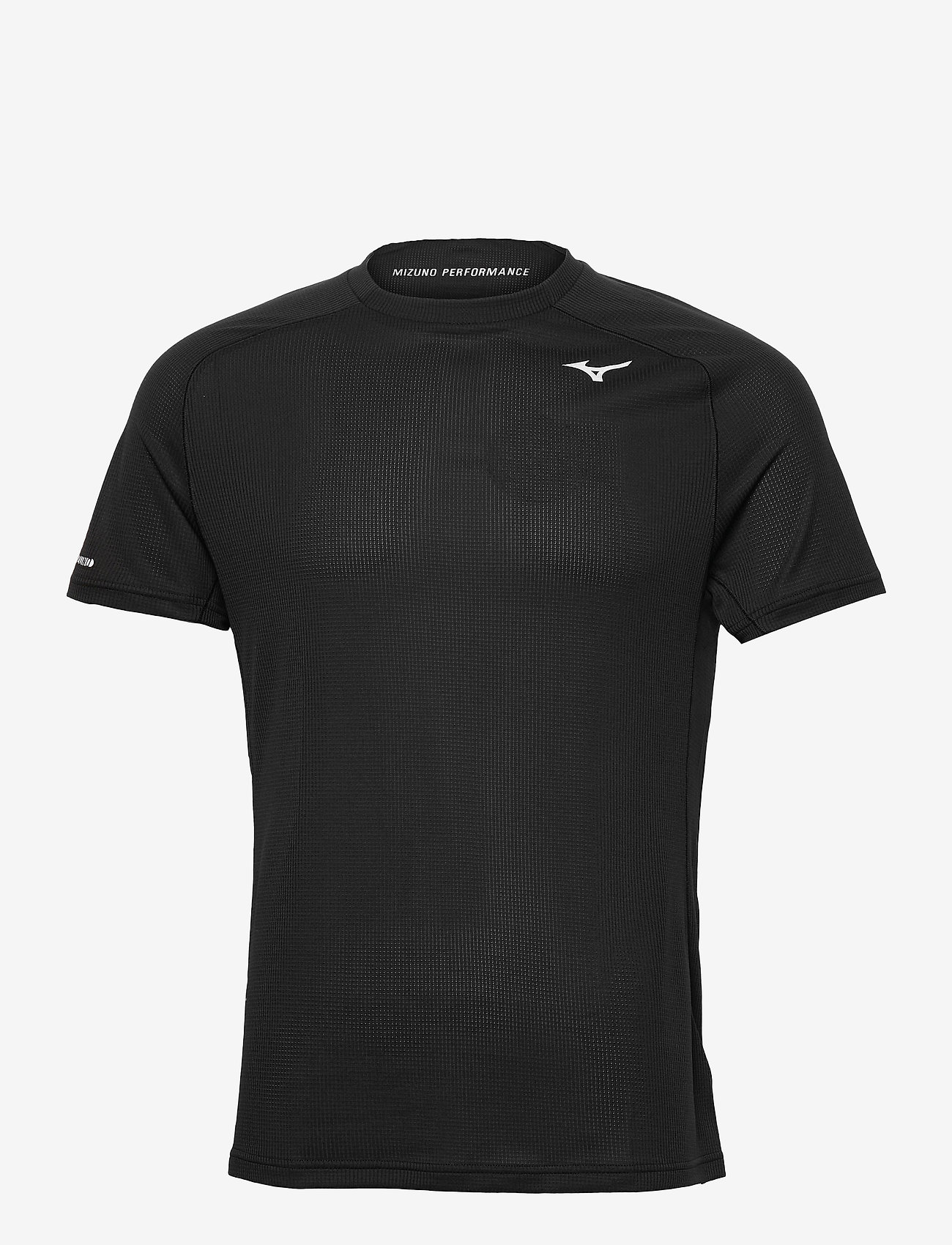 Mizuno - DryAeroFlow Tee(M) - t-shirts - black - 0