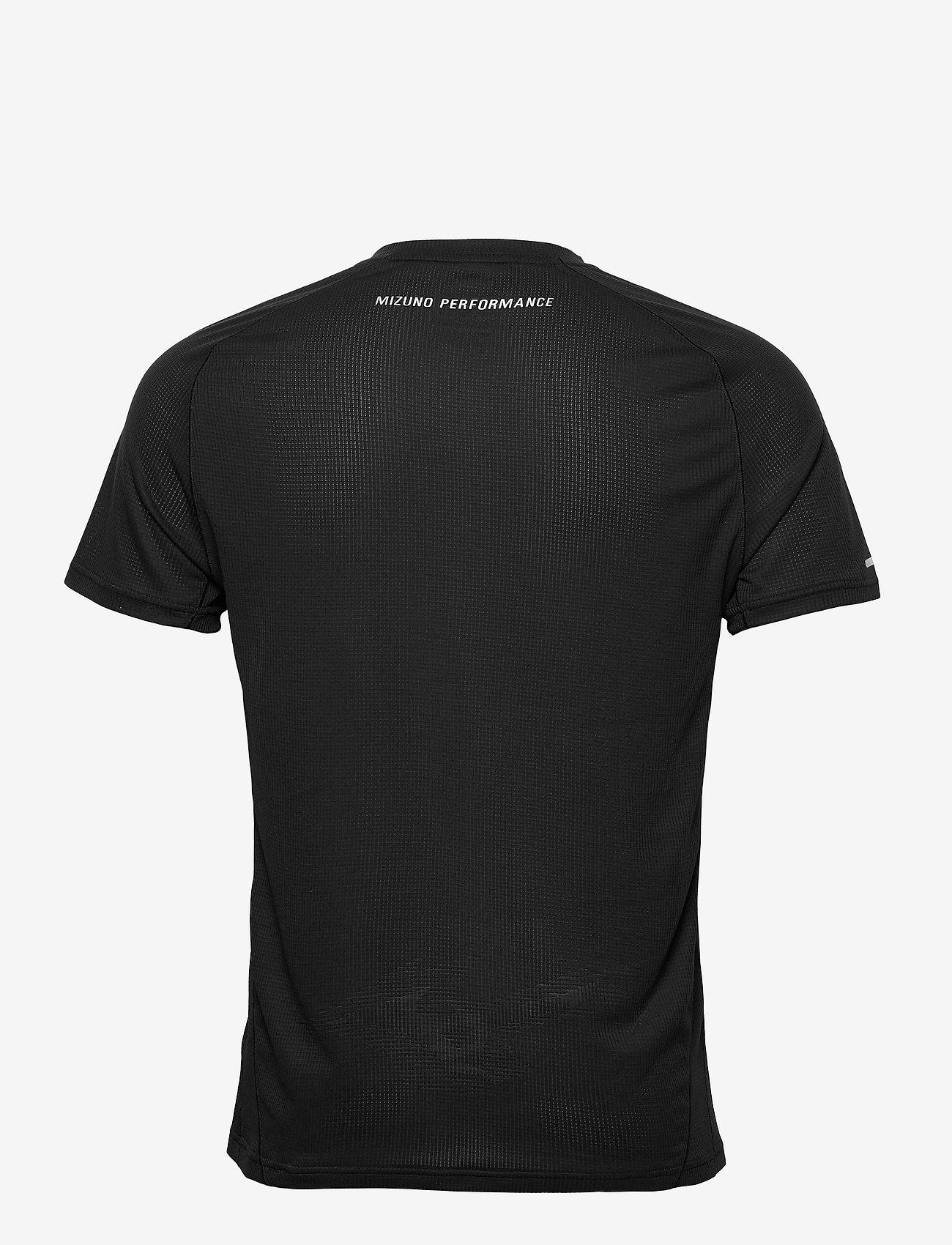 Mizuno - DryAeroFlow Tee(M) - t-shirts - black - 1