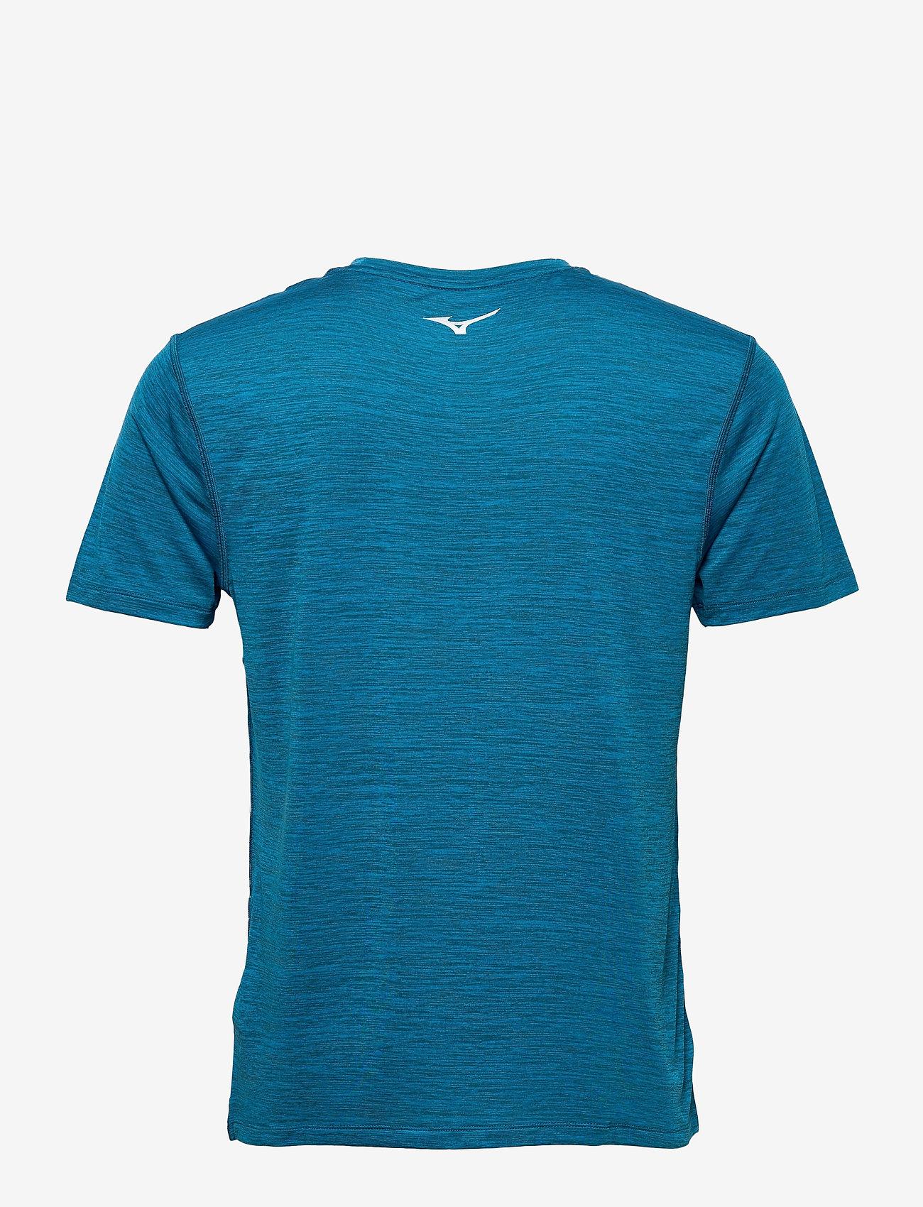 Mizuno - Impulse Core Tee(M) - t-shirts - mykonos blue - 1