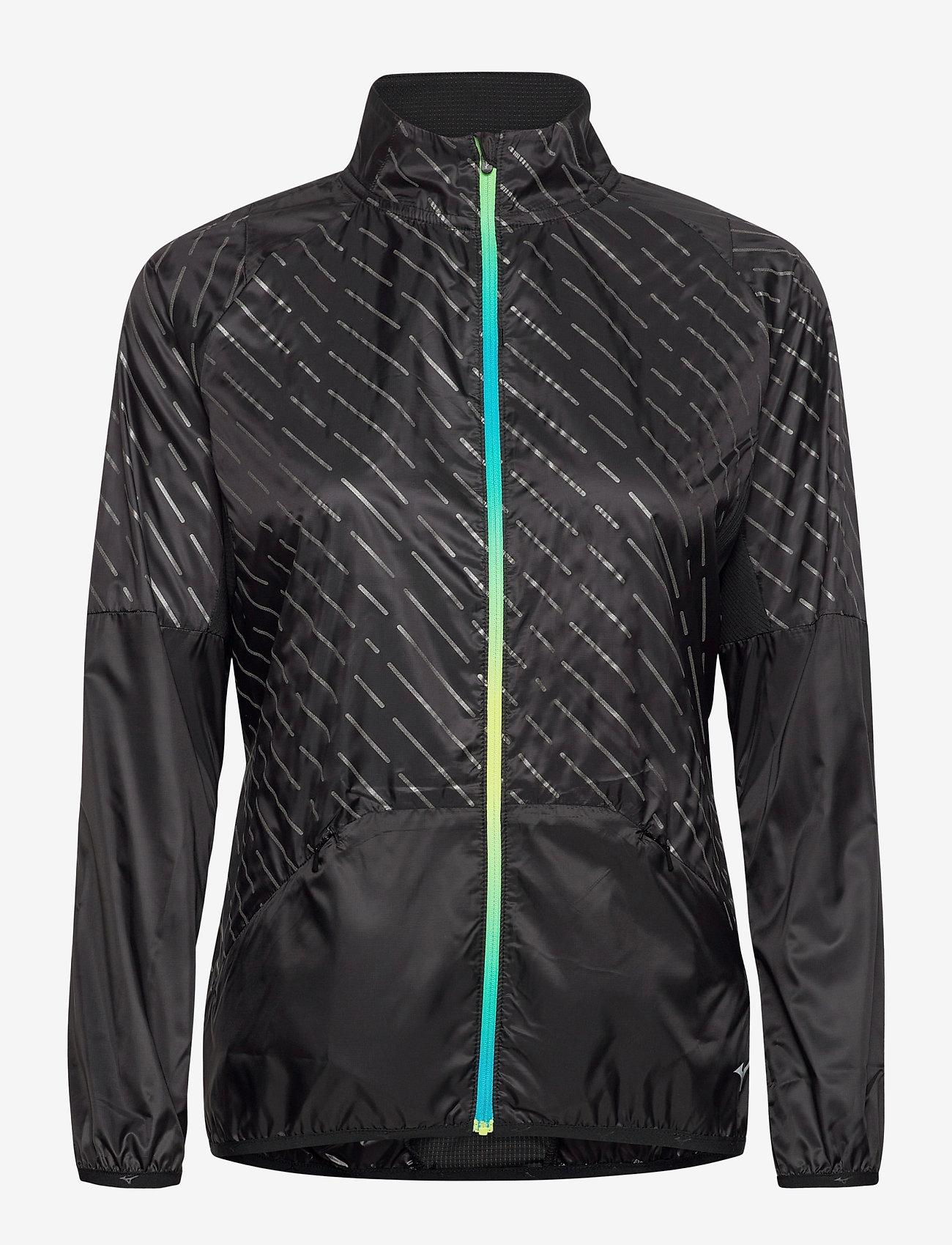 Reflect Wind Jacket (Black) (67.50 €) - Mizuno 05N12