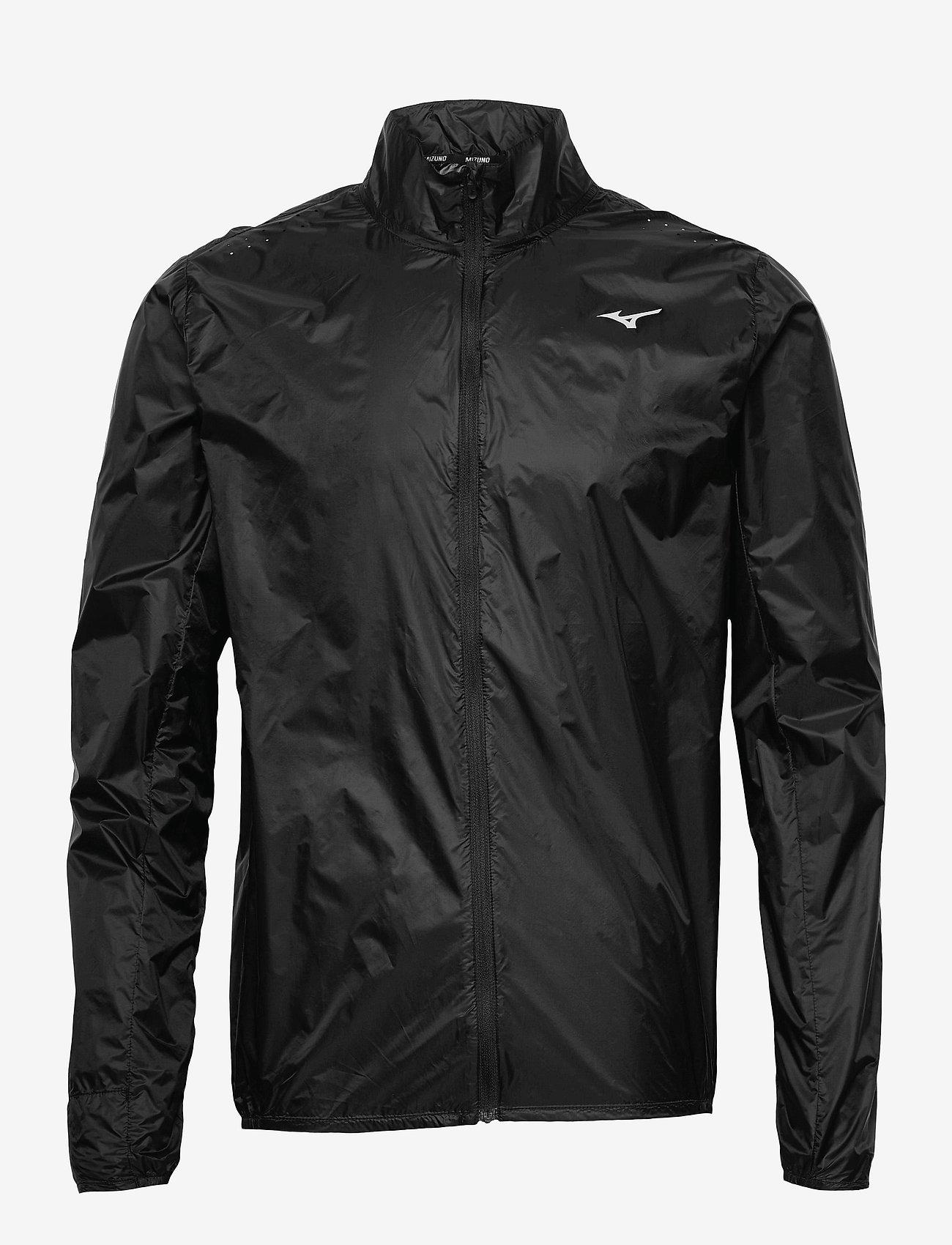 Mizuno - Aero Jacket(M) - sportsjakker - black - 0