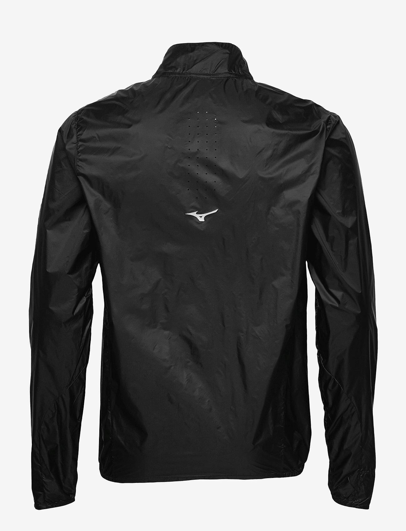 Mizuno - Aero Jacket(M) - sportsjakker - black - 1