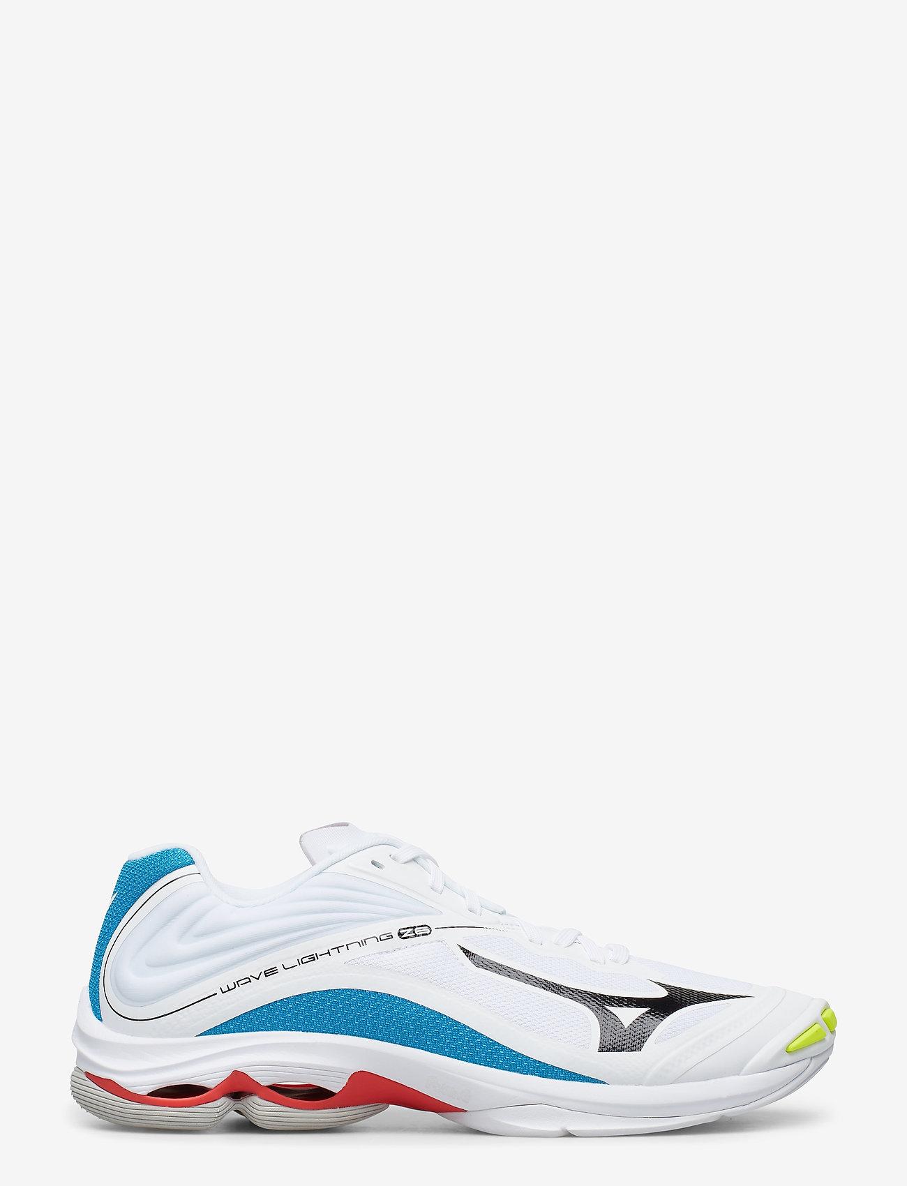 Wave Lightning Z6 (White / Black / Diva Blue) (1100 kr) - Mizuno