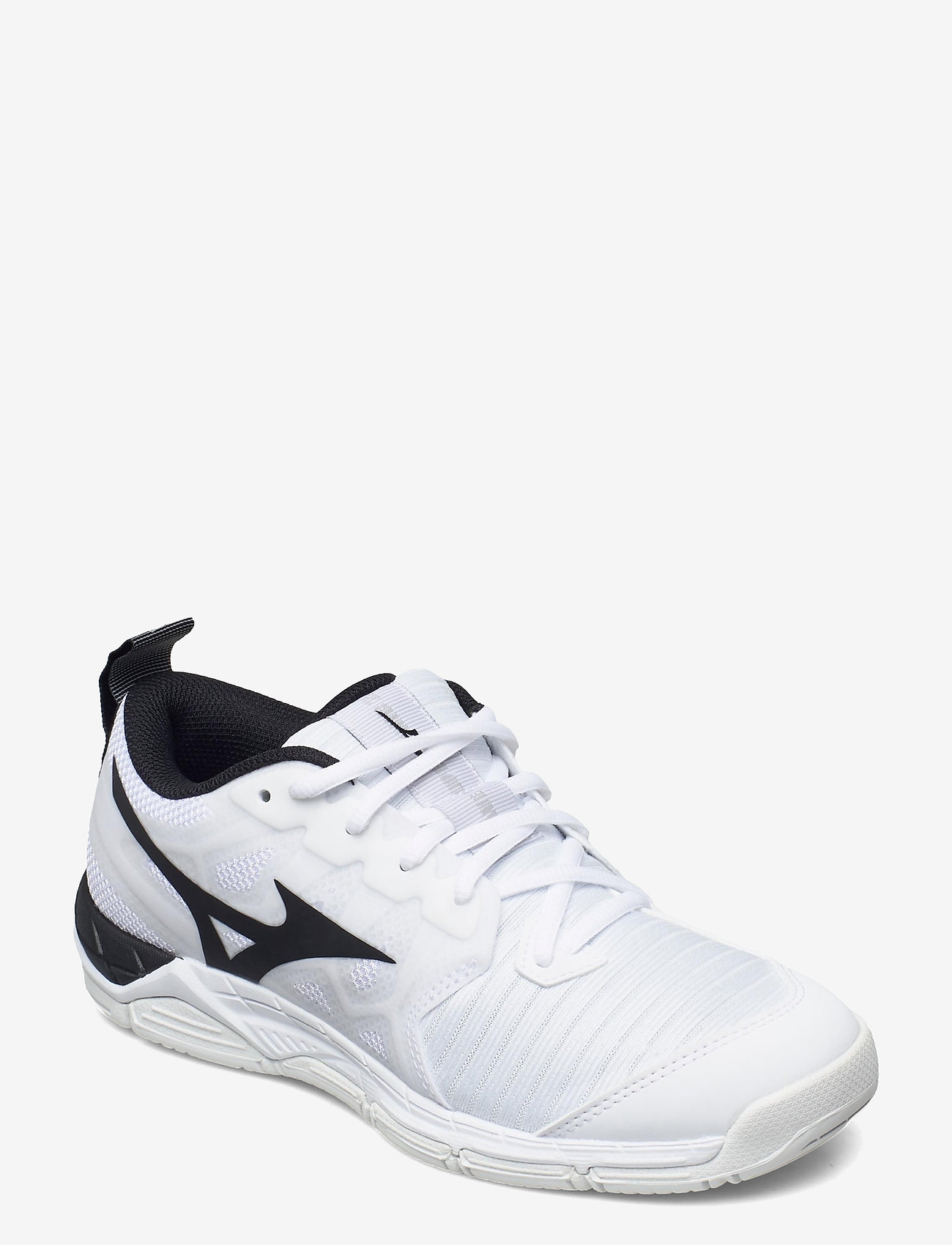 Mizuno - WAVE SUPERSONIC 2(U) - inomhusskor - white / black - 0