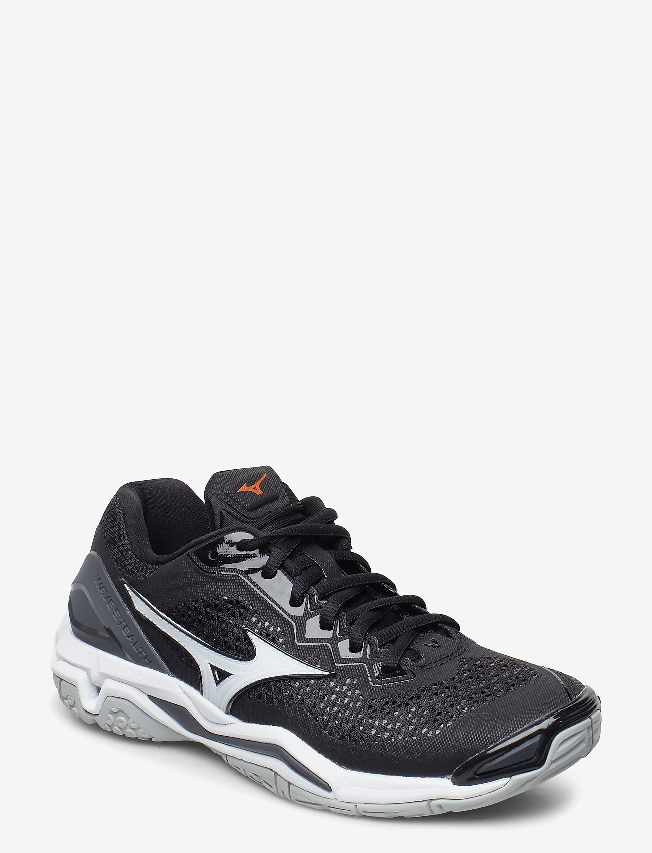 Mizuno - WAVE STEALTH V - inomhusskor - black / white / ebony - 0