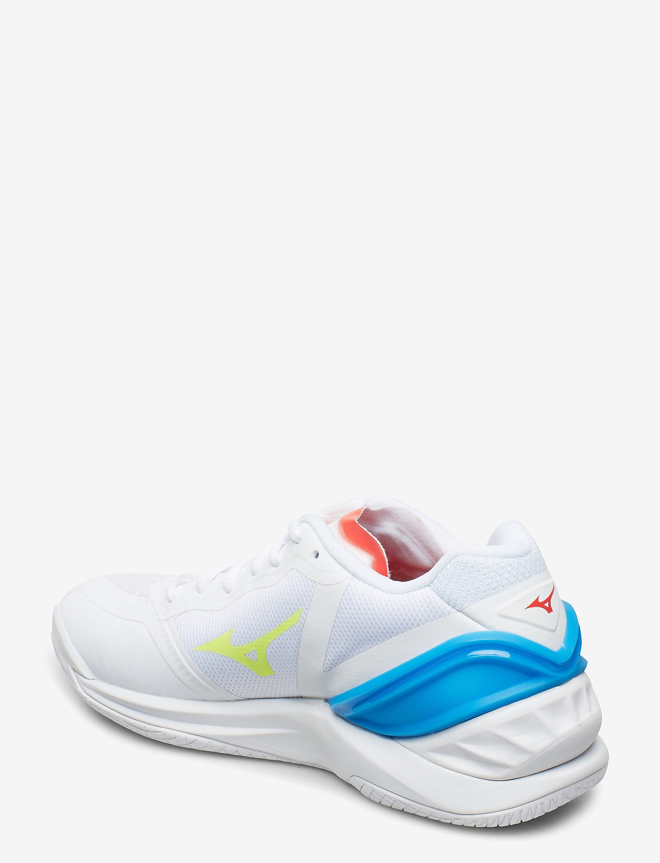 Wave Stealth Neo (White / Safety Yelow) (1200 kr) - Mizuno