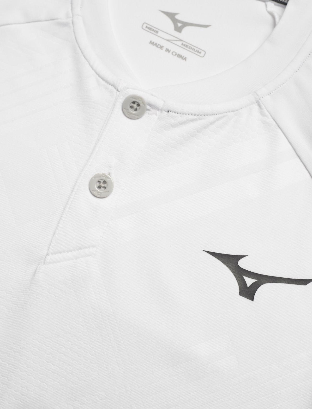 Mizuno Shadow Polo - Poloskjorter WHITE - Menn Klær