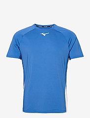 Mizuno - Shadow Tee(M) - t-shirts - nebulas blue - 0
