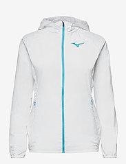 Mizuno - Hoody Jacket(W) - träningsjackor - white - 0