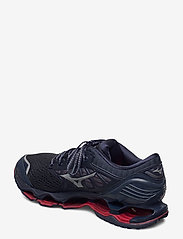 Mizuno - WAVE PROPHECY 9(M) - löbesko - mood indigo/frost gray/lollipop - 2