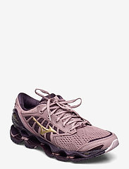 Mizuno - WAVE PROPHECY 9 W - running shoes - woodrose/gold/plum perfect - 1