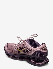Mizuno - WAVE PROPHECY 9 W - running shoes - woodrose/gold/plum perfect - 2