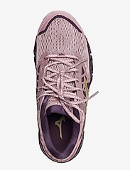 Mizuno - WAVE PROPHECY 9 W - running shoes - woodrose/gold/plum perfect - 3