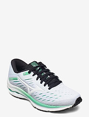 Mizuno - Wave Rider 24(W) - running shoes - white/white/jadecream - 0